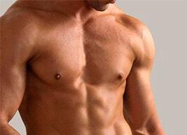 Лазерная эпиляция груди для мужчин