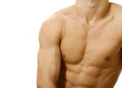 Лазерная эпиляция плеч для мужчин