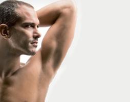 Лазерная эпиляция подмышки для мужчин